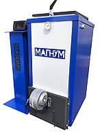 Твердотопливный котел Холмова Магнум 18 кВт с автоматикой и турбиной