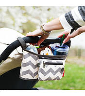 Сумка органайзер для коляски Grab & Go, сумка для мамы на коляску