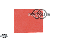 Фильтр воздушный  заготовка  300-250mm  поролон, с пропиткой, красный