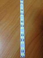 Светодиодная линейка SMD 5630/144 12V 6500K IP20 Код.58618