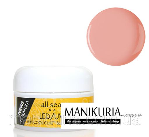 Гель All Season LED/UV Self Leveling Opaque Petal Pink бежево-розовый, 14 мл