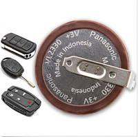 Аккумулятор для ключа Ford, Panasonic VL2330, 3v