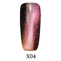 Гель-лак Adore Galaxy Cat`s Eye 7,5 мл X04