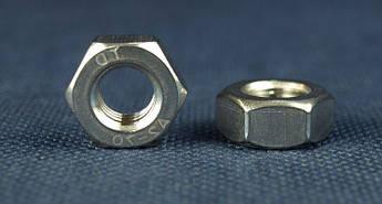 Гайка М1,4 шестигранная ГОСТ 5915-70, DIN 934 из нержавеющей стали А2, фото 2