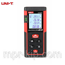 Лазерний далекомір ( лазерна рулетка ) UNIT UT392A (0,046-80 м) проводить вимірювання V, S, H, пам'ять 30