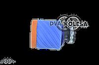 Фильтр воздушный  универсальный  d-35mm, косой  (сине-оранжевый, #2)