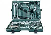 Универсальный набор интсрументов, 128 предметов Jonnesway S04H524128S