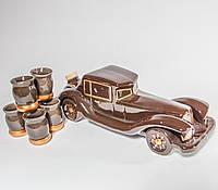 Коньячный набор Ретро автомобиль