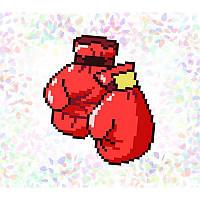 """Водорастворимый флизелин с рисунком """"Confetti"""" (K105 Бокс)"""