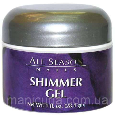 Гель All Season Shimmer Gel прозрачный гель с блестками, 28 мл