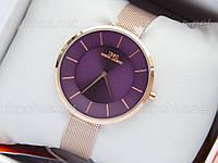 Оригинальные часы люкс качества IBSO Boerni Aibisino - розовое золото, фиолетовый циферблат