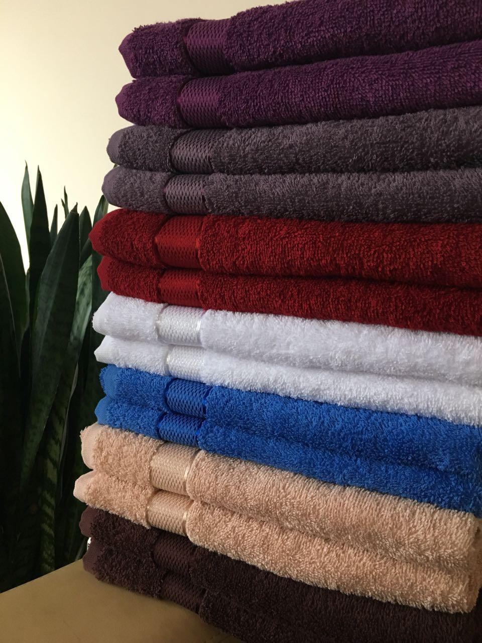 Махровое банное полотенце 70х140, плотность 400гр