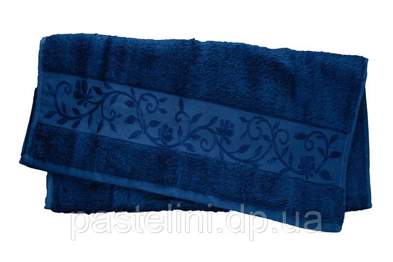 Рушник Hanibaba бамбук 100х150 темно-синій