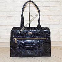 Лаковая сумка синяя в Запорожье. Сравнить цены dbcf3815e4ec3