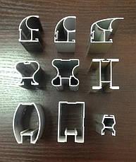 Конструктор для раздвижных систем купе(шкафы,гардеробные) из алюминиевого профиля (2ух дверный), фото 2