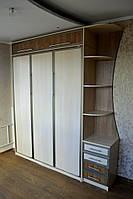 Подъемная кровать вертикальная с полками и антресолями , фото 1