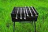 Раскладной мангал - чемодан на 6 шампуров УК-М6