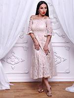 Изысканное женское платье модного ретро стиля , фото 1