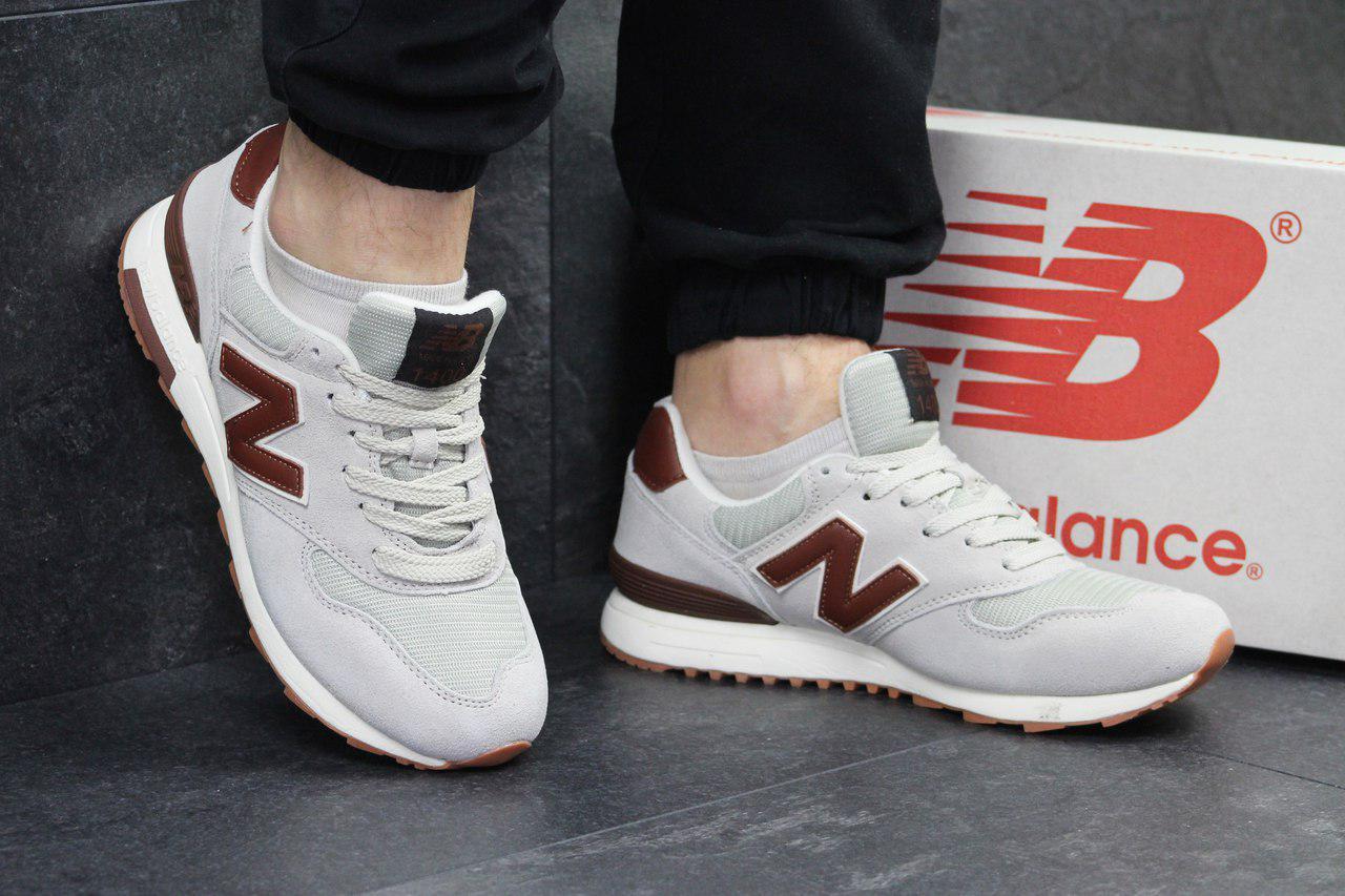 a1aec9227d03 Кроссовки мужские светло бежевые с коричневым New Balance 1400 4937