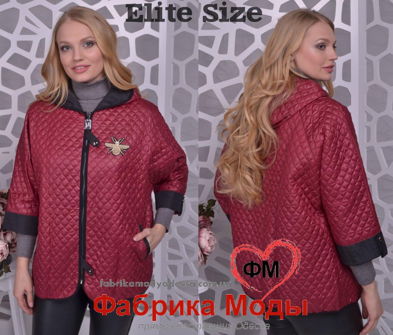 8187e9ac7a3f Легкая женская куртка весна осень большого размера Производитель Украина  прямые поставки фабрики р.50