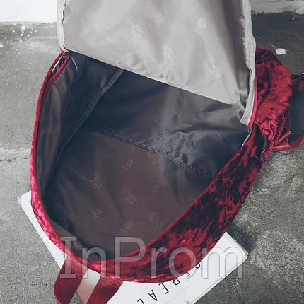 Рюкзак Amelie Velor GD, фото 2