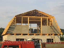 Строительство скатных крыш под ключ