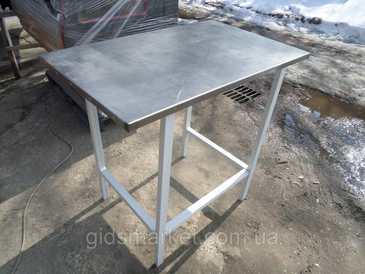 Стол с нержавейки б у., промышленный стол бу.