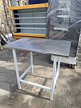 Стол с нержавейки б у., промышленный стол бу., фото 2