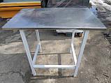 Стол с нержавейки б у., промышленный стол бу., фото 3