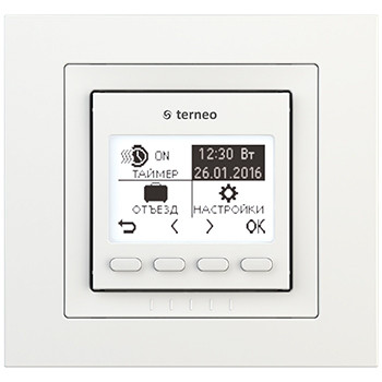 Terneo pro unic - программируемый терморегулятор