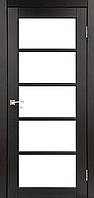Дверь VICENZA  VС-02. Со стеклом сатин (венге,дуб грей,дуб беленый,орех,дуб марсала). KORFAD (КОРФАД)