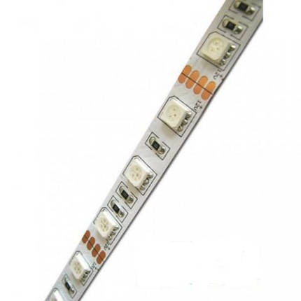 Светодиодная лента Premium SMD 5050/60 12V RGB IP20 Код.53047, фото 2