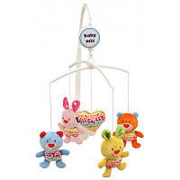 Музыкальный мобиль Baby Mix 437M Зайчата и медвежата