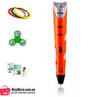 Оригинальная 3D-ручка MyRiwell 1 RP100A Orange + 30 метров пластика