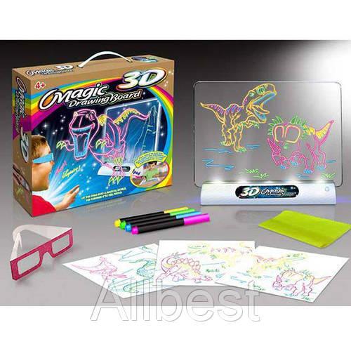 Набор / доска для рисования 3D Magic Сказочный патруль и Drawing Board