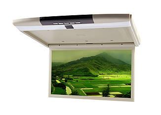 """Автомобильный потолочный монитор 15,6"""" Clayton SL-1570 Full HD BE (бежевый)"""