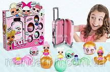 Кукла LOL с чемоданом