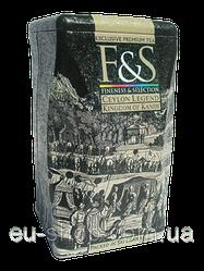 Чай F&S - черный Легенда цейлона .Королевство Канди  200 г ж\б