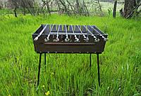 Раскладной мангал - чемодан на 8 шампуров УК-М8, фото 1