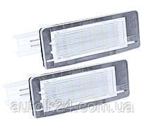 LED Подсветка номера RENAULT SCENIC 3 III Dacia Duster Lodgy,Laguna 2,Espace.