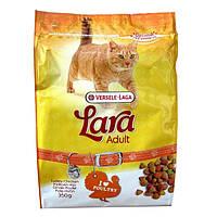 Lara Poultry 10 кг ЛАРА КУРИЦА сухой корм для активных котов и кошек