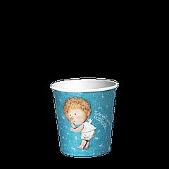 Стакан бумажный 110 мл. Gapchinska 50шт.(84/4200) Бирюзовый