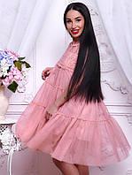 Очень красивое летнее платье из шифона