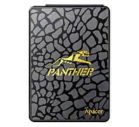 """Твердотельный накопитель 120Gb, Apacer AS340 Panther, SATA3, 2.5"""", TLC, 500/375 MB/s (AP120GAS340-1)"""