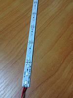 Светодиодная лента  5630/72 12V красная IP20 1м на алюминиевой подложке Код.57983