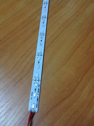 Светодиодная лента  5630/72 12V красная IP20 1м на алюминиевой подложке Код.57983, фото 2