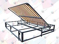 Каркас кровати 2000х1600 мм с подъемным механизмом(без фиксатора) и основанием боковое, 4.5