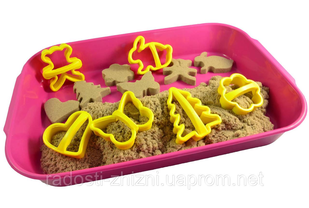 """Кинетический песок WABA Fun  2 кг в наборе """"Ассорти"""""""