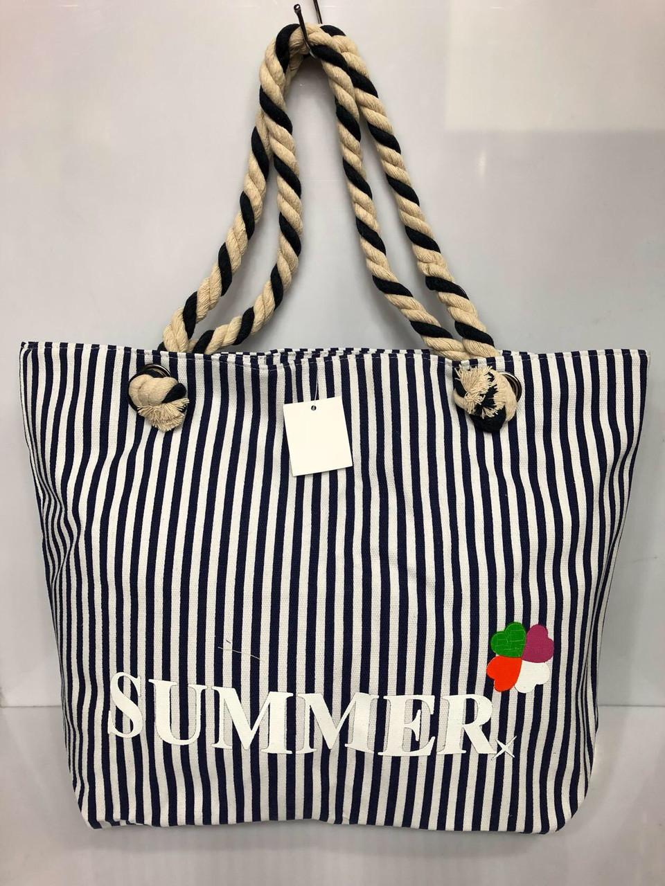 Пляжная сумка в полоску Summer