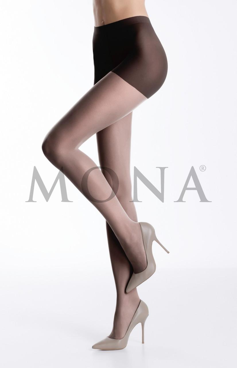 Колготки матовые с шортиками Mona 20 den Lia Matt Effect